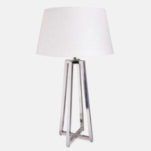 Bristol bordlampe nikkel uten skjerm