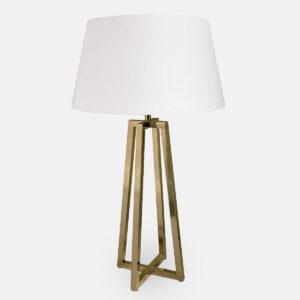 Bristol bordlampe brass